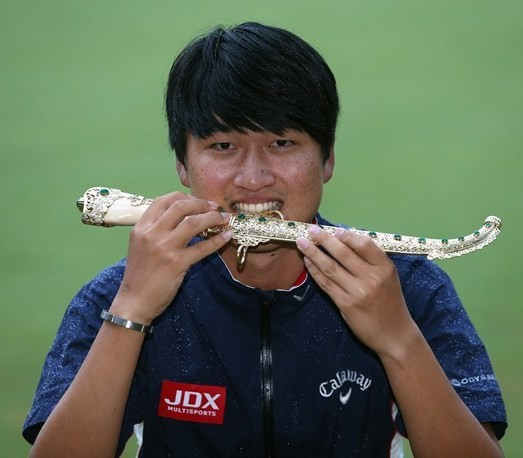 European Tour - Jeunghun Wang